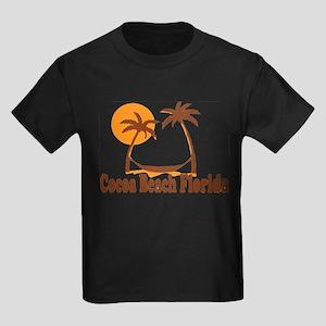 Cocoa Beach - Palm Trees Design. T-Shirt