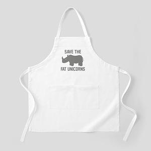 Save The Fat Unicorns Apron