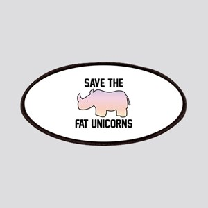 Save The Fat Unicorns Patches
