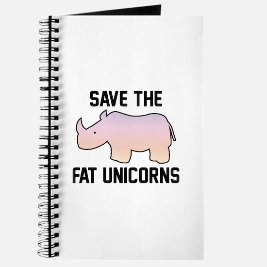 Save The Fat Unicorns Journal