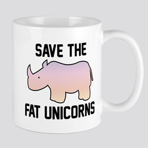 Save The Fat Unicorns Mug