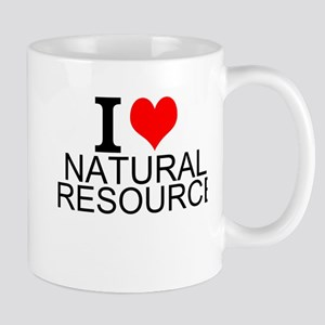 I Love Natural Resources Mugs