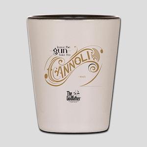Godfather - Cannoli Shot Glass