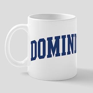 DOMINICK design (blue) Mug