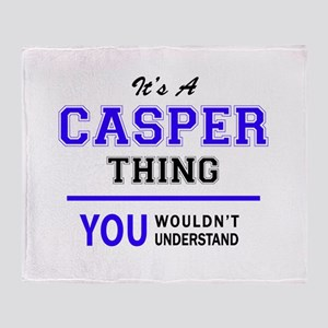 It's CASPER thing, you wouldn't unde Throw Blanket