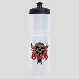 BMX skull 2 Sports Bottle