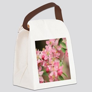Crab Apple Canvas Lunch Bag