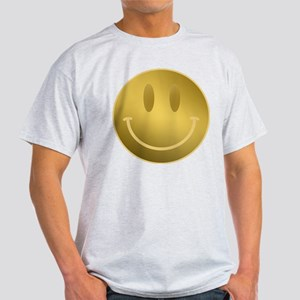 GOLD Smiley Gold Outline T-Shirt