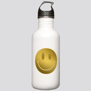GOLD Smiley Gold Outli Stainless Water Bottle 1.0L