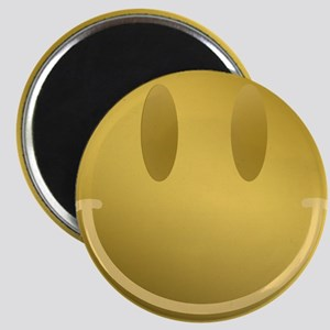 GOLD Smiley Gold Outline Magnets