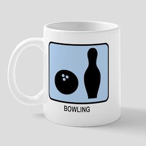 Bowling (BLUE) Mug