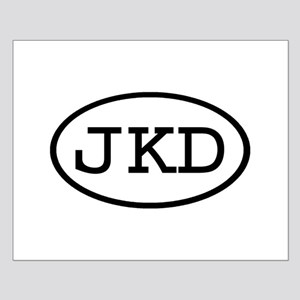 JKD Oval Small Poster