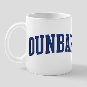 DUNBAR design (blue) Mug