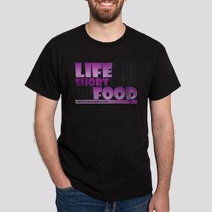 Life-is-too-short-Purple T-Shirt