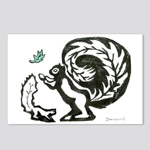 Black and White Postcards (Package of 8)