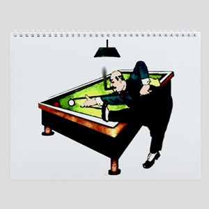 Billiards Wall Calendar