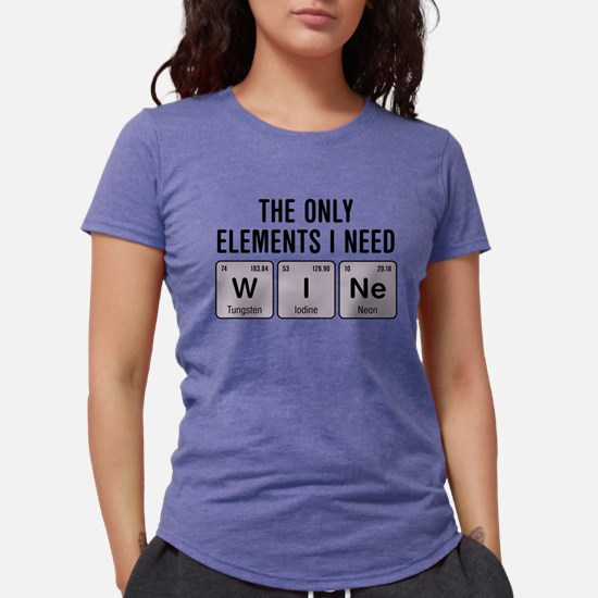 Wine Chemistry Elements T-Shirt
