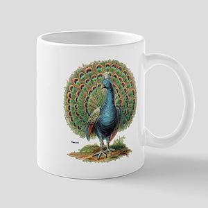 Peacock Peafowl Mug