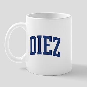 DIEZ design (blue) Mug