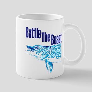 Battle the beast. Mugs