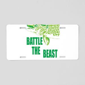 The beast Aluminum License Plate