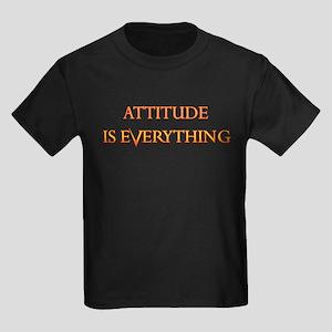 ATTITUDE IS EVERYTHING Black T-Shirt