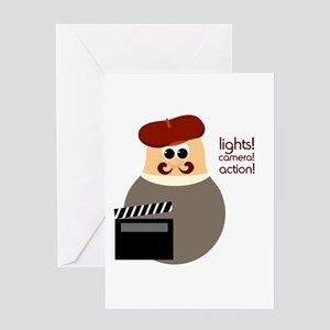 Hollywood Movie Director Greeting Card