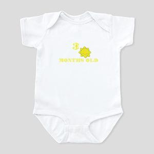 3 months old sun Infant Bodysuit