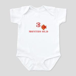 3 months old fish Infant Bodysuit
