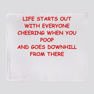 life Throw Blanket