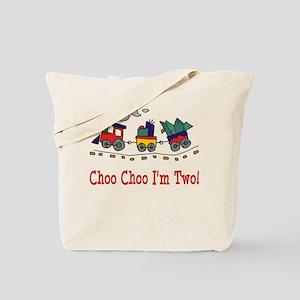 Choo Choo I'm 2 Tote Bag