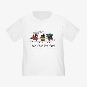Choo Choo I'm 2 Toddler T-Shirt