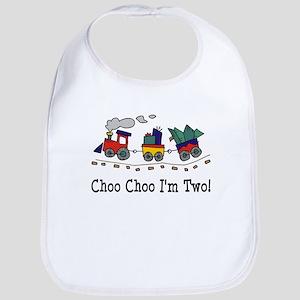 Choo Choo I'm 2 Bib
