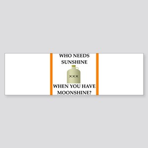 moonshine Bumper Sticker