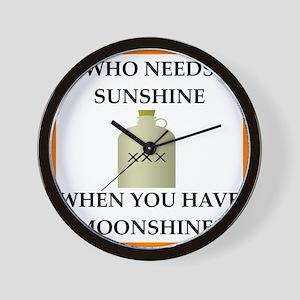 moonshine Wall Clock