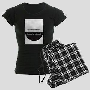 Hoarder Women's Dark Pajamas