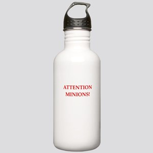 attention! Water Bottle