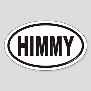 HIMMY Euro Oval Sticker for Himalayan Cats