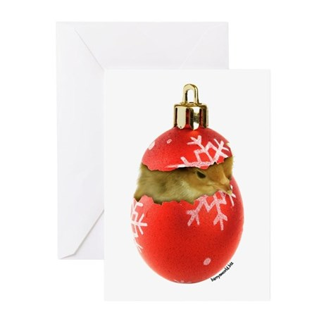 X-mas Chick Greeting Cards (Pk of 20)