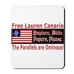 Free Lauren-1 Mousepad