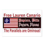 Free Lauren-1 Postcards (Package of 8)