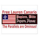 Free Lauren-1 Small Poster