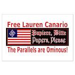 Free Lauren-1 Large Poster