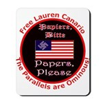 Free Lauren-2 Mousepad