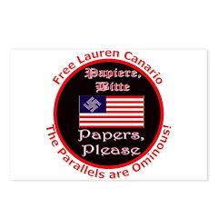 Free Lauren-2 Postcards (Package of 8)