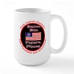 Free Lauren-2 Large Mug