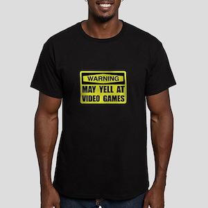 Warning Yell At Video Games T-Shirt