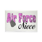 Air Force Niece Rectangle Magnet (100 pack)