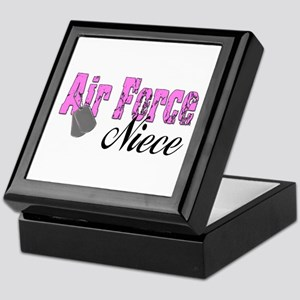 Air Force Niece Keepsake Box