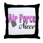 Air Force Niece  Throw Pillow
